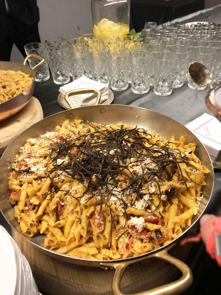 Menu per una cena siciliana