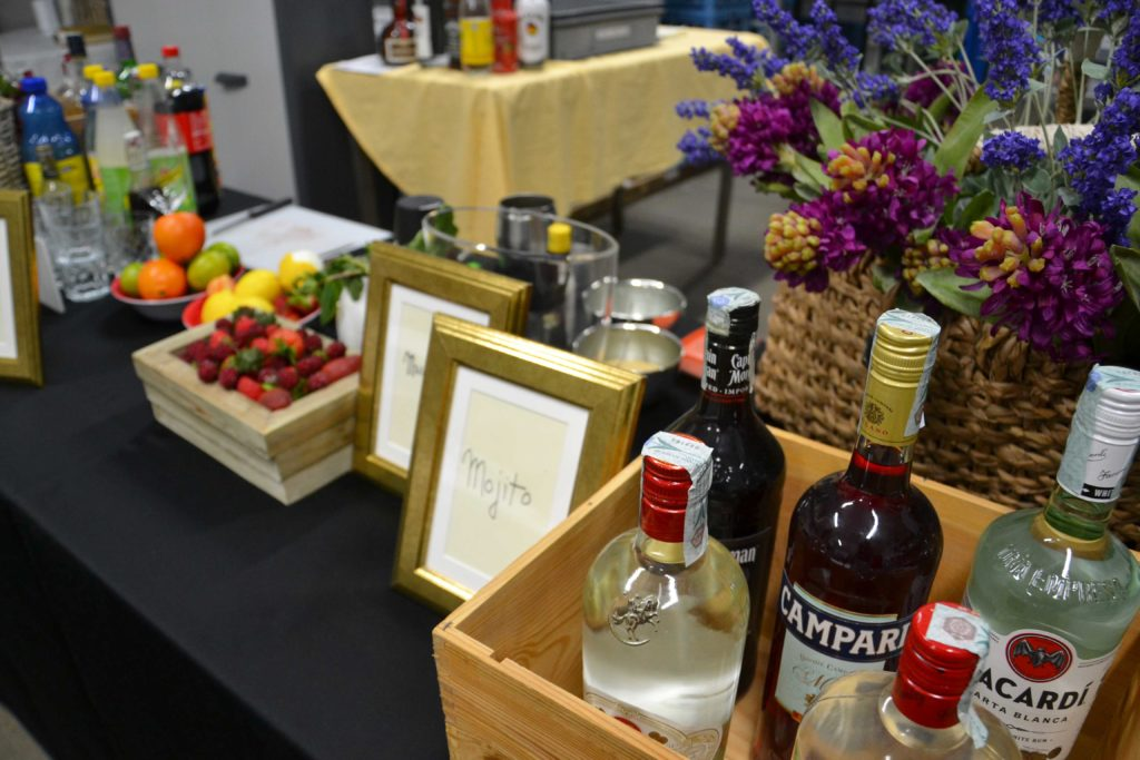 Catering open bar