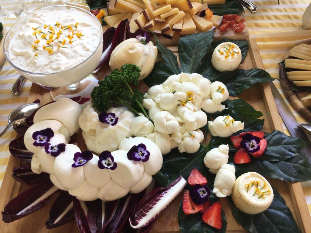 fiori nel cibo