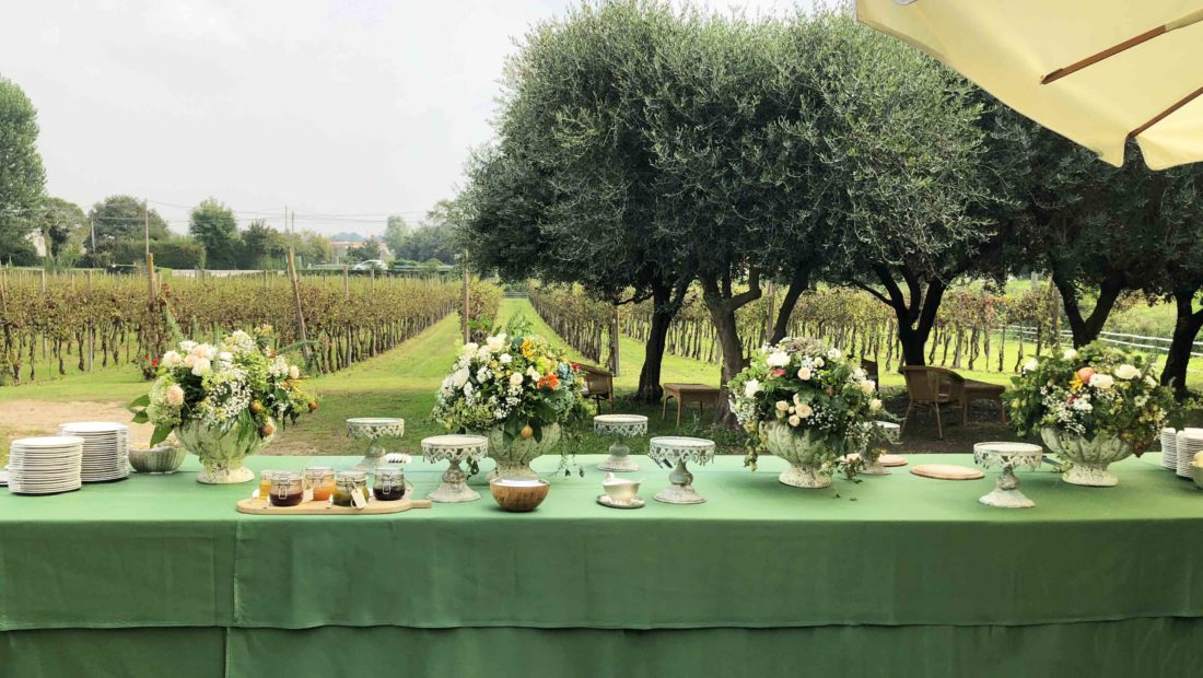 Matrimonio in cantina