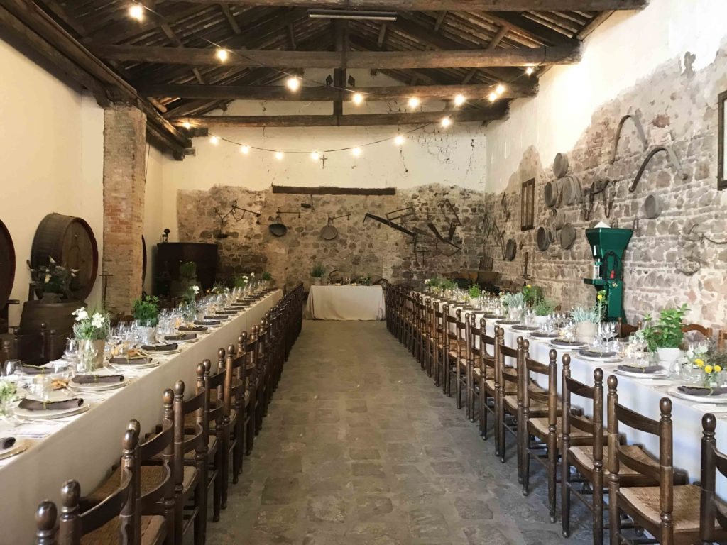 matrimonio in cantina