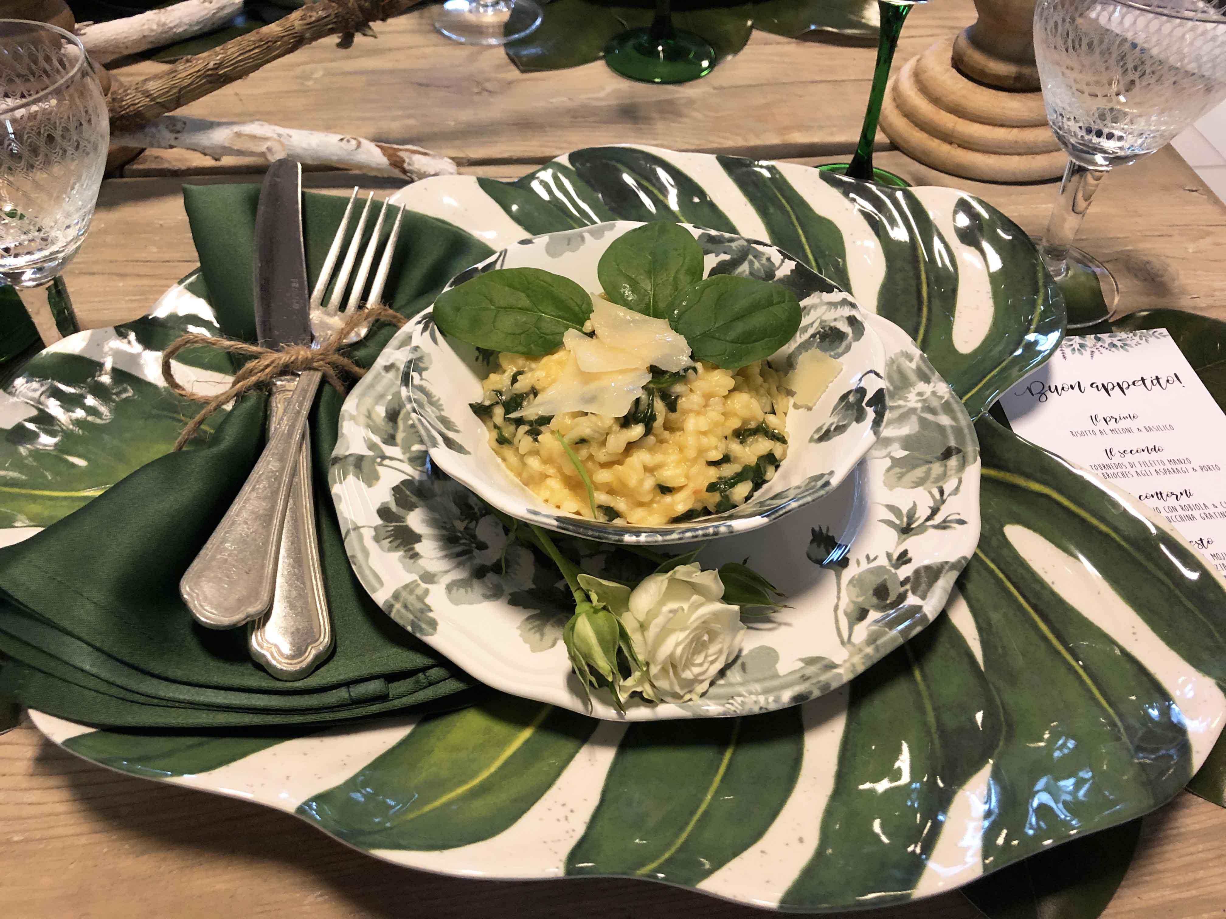 Risotti particolari due ricette originali per primi for Primi piatti particolari
