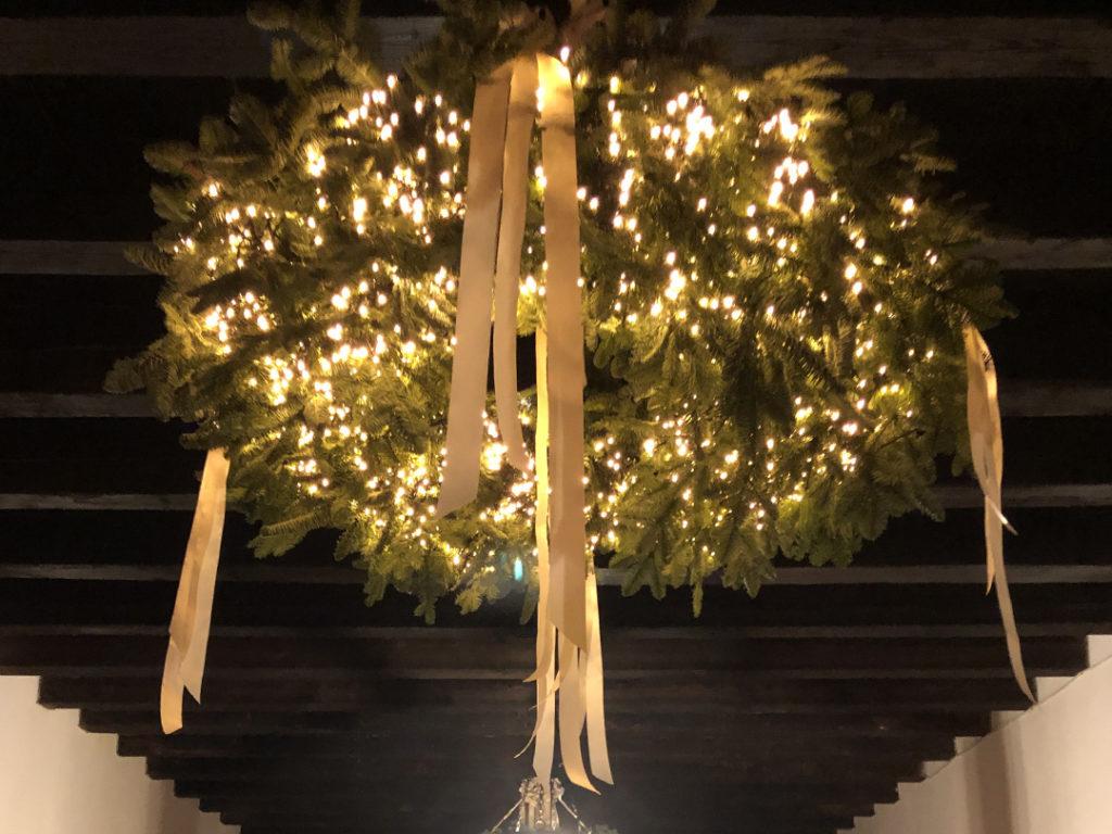 decorazioni matrimonio natale