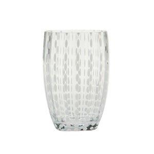 Bicchieri perle trasparenti 01