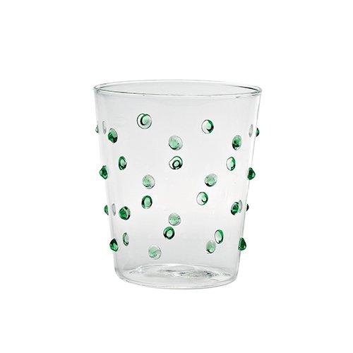 Bicchieri perle verdi 01
