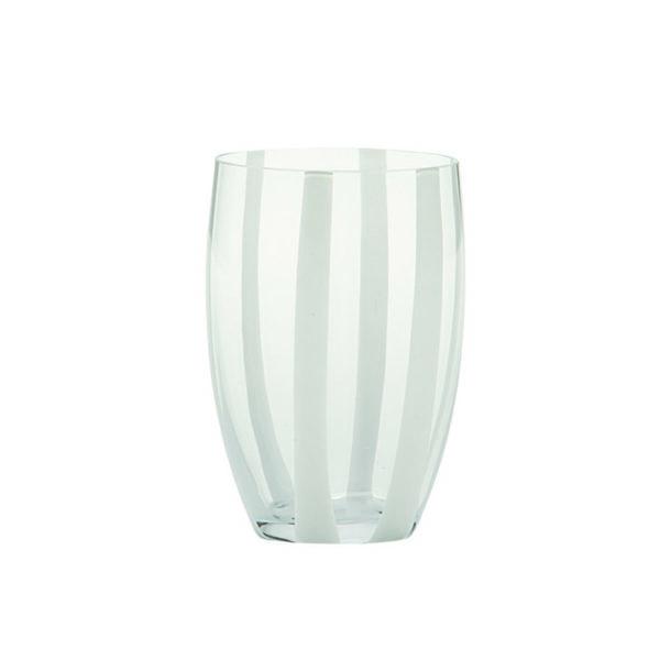 bicchiere gessato bianco 00