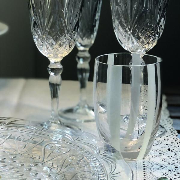 bicchiere gessato bianco 02