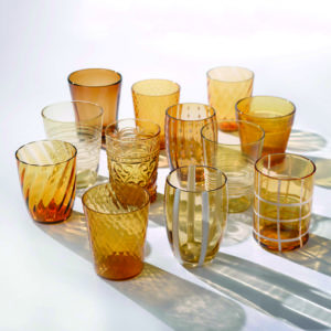 bicchieri ambra