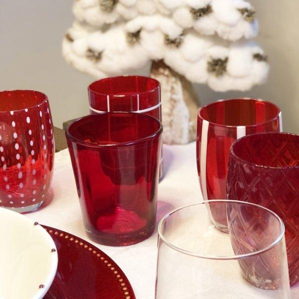 bicchieri rossi