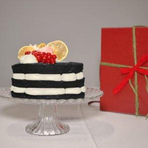 Torta Black velvet