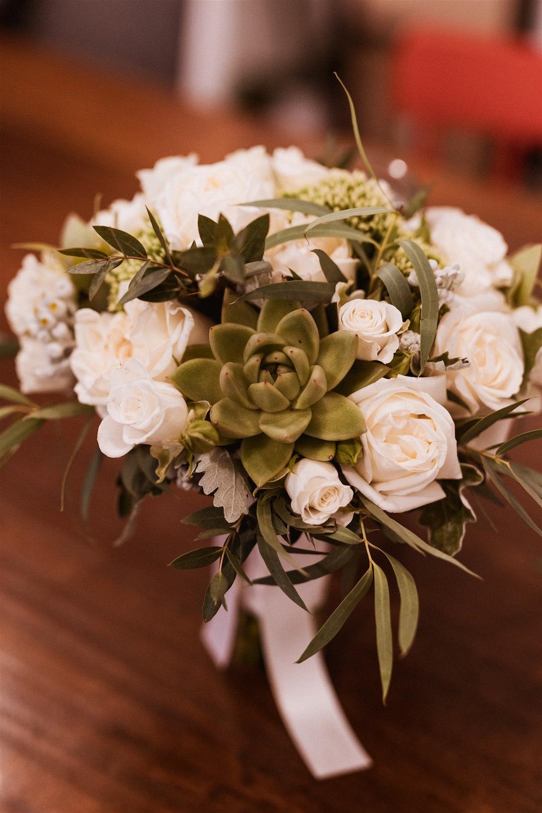 fiori matrimonio succulente