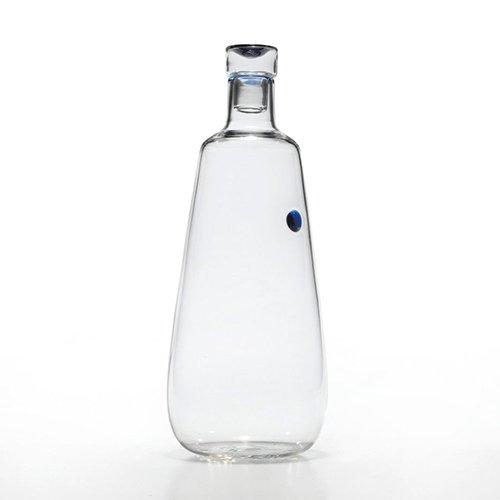 bottiglia pois blu